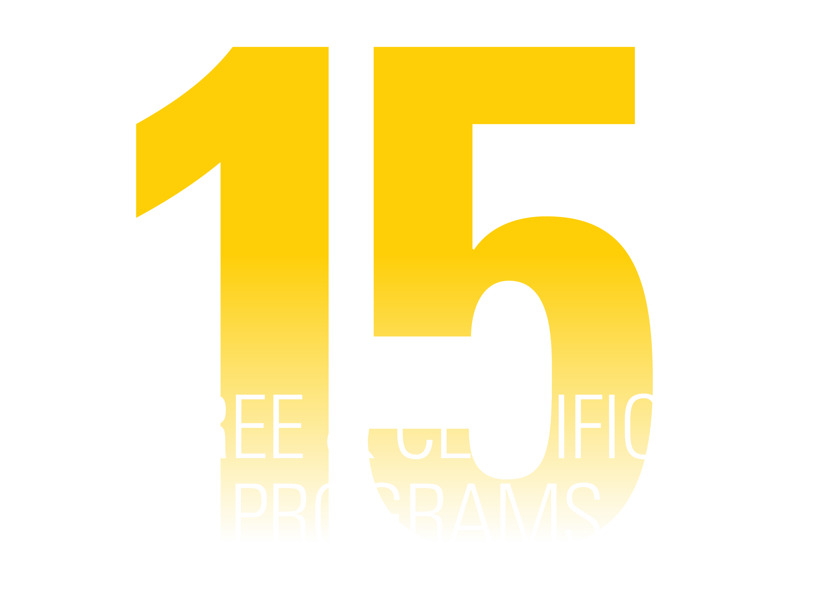 15 Degree and Certificate Programs
